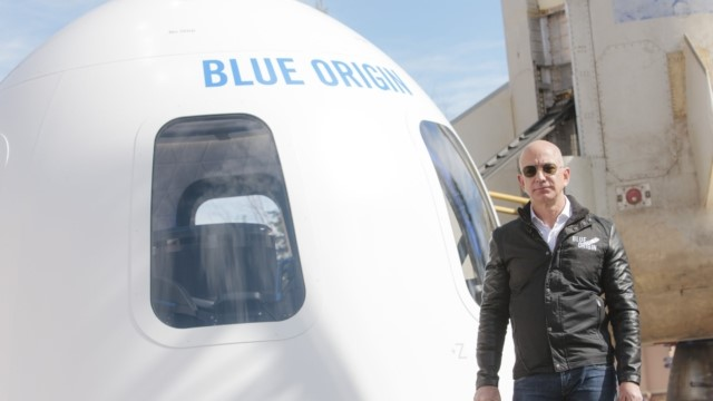 founder of blue origin - fact about jeff bezos